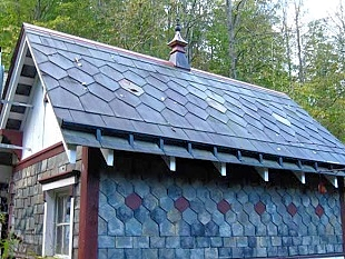 Acadian Shore Slate Roofing, Maine Slate & Tile Roofing Installations, Repairs & Restoration