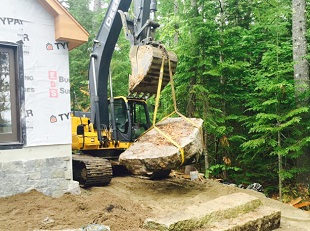 Clarke Construction, Earthwork, Excavation Contractor, Residential & Commercial Site Development, Ellsworth Maine