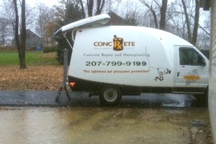 Concrete Prescriptions, Portland Maine Basement Waterproofing & Repairs, Foundation Waterproofing, Floor Crack Repairs, Basement Waterproofing Repairs