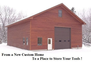 Duanne Smith's Carpentry, Custom Home Builder, Home Additions, Renovations, Down East Maine Builders