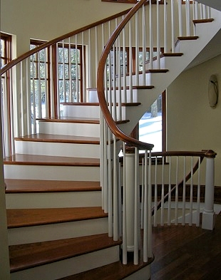 Hewes & Company,  Maine Custom Cabinetry, Built-in Cabinetry, Stairways, Kitchens, Millwork, Moldings