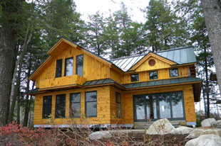 Lake House Design Build, Belgrade Lakes, Augusta, Waterville, Winslow Maine Home, Cottage, Summer Camp Building Contractors