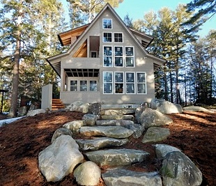 LakeHouse Design Build, Maine Cottage and Camp Builders, Restorations, Additions