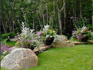MDI Grows, Coastal Maine Landscape Design, Installation & Garden Services, Stone Masonry for Walkways, Fencing, Garden Paths, Mount Desert Island  and Downeast Maine