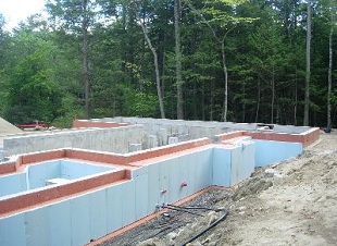 Residential & Commercial Concrete Foundations, Footings & Slabs, Frost Walls, Concrete Retaining Walls, Berwick Maine