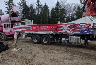 New England Concrete Pumping, Maine Concrete Pumping, Residential, Commercial & Industrial, State of Maine