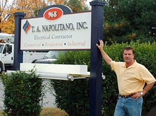 TA Napolitano Electrical Contractor, Portland Maine Electrician, Electrical Wiring & Lighting Services, South Portland Maine Electrical Contractor