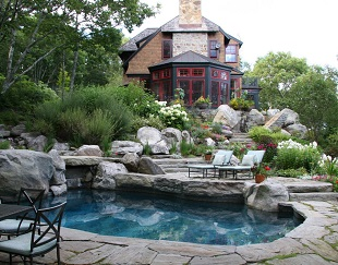 Burdick & Associates Landscape Design, Landscape Installation Contractors, Landscape Architects & Planning, Hardscapes, Stone Walls, Walkways, Mount Desert Island Maine