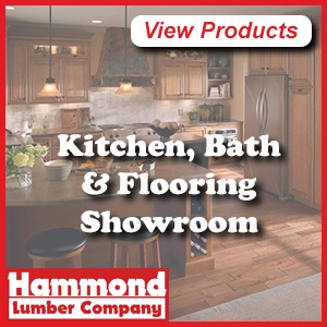 Hammond Lumber Belgrade, Maine,  Kitchen & Bath Design, Flooring
