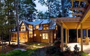 Custom Home Builder Maine, Post & Beam, Timber Frame, Design Build Builders